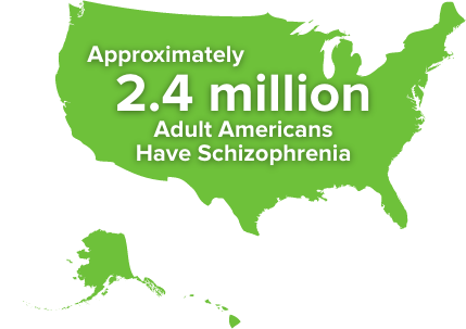 Schizophrenia statistics in US